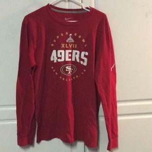 Nike 49ers Super Bowl Shirt
